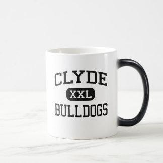 Clyde - dogos - joven - Clyde Tejas Taza Mágica