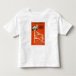 """Clyde Fitch's Greatest Comedy, """"Girls"""" Theatre 2 Toddler T-shirt"""