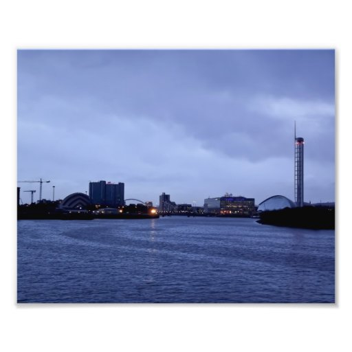 Clyde in the Evening Photographic Print