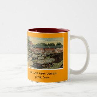 Clyde Kraut Company Two-Tone Coffee Mug