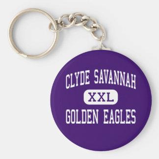 Clyde Savannah - Golden Eagles - High - Clyde Key Chain