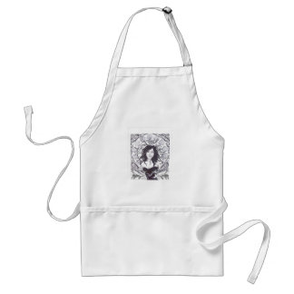 Clyde with Fishes Adult Apron