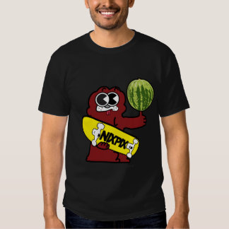 Clyde with Watermelon and Nixpix Skateboard Logo Tee Shirt