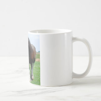 Clydesdale and Filly mug