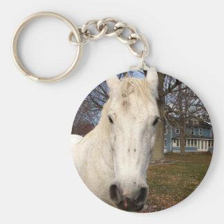 Clydesdale Basic Round Button Keychain