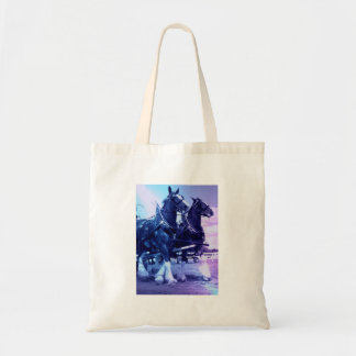 Clydesdale Budget Tote Canvas Bags