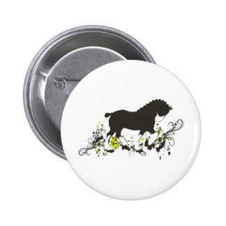 Clydesdale Pinback Buttons