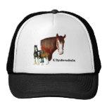 Clydesdale design trucker hat