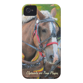 Clydesdale Draft Horse-lover Blackberry Bold Case