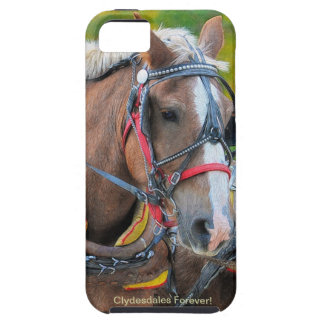 Clydesdale Draft Horse-lover iPhone 5 Case