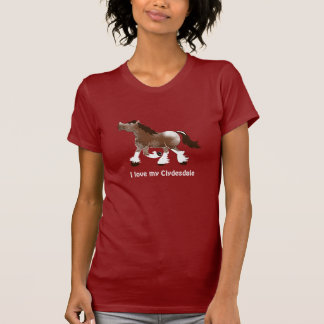 Clydesdale Draft Horse Lover Shirt Gift