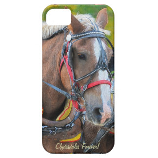 Clydesdale Draft Horse-lover's iPhone 5 Case