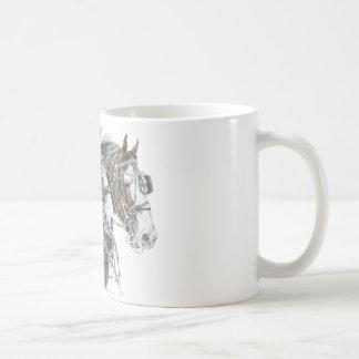 Clydesdale Draft Horse Team Coffee Mug