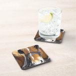 Clydesdale Draft Horses Cork Coasters
