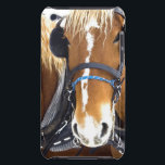 "Clydesdale Draft Horses iTouch Case<br><div class=""desc"">Clydesdale daft horse in complete tack.</div>"