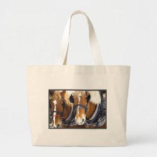 Clydesdale Draft Horses Jumbo Tote Bag