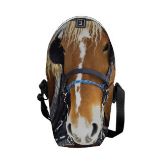 Clydesdale Draft Horses Courier Bag