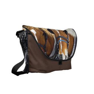 Clydesdale Draft Horses Messenger Bag