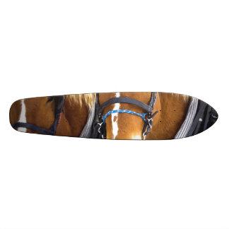 Clydesdale Draft Horses Skateboard Deck