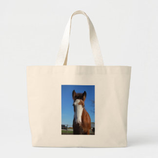 Clydesdale filly tote bag