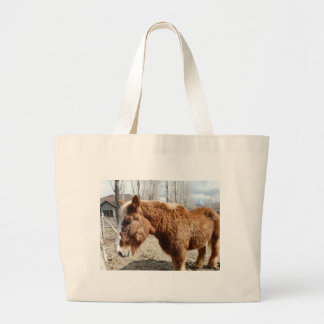 Clydesdale horse 2 canvas bags