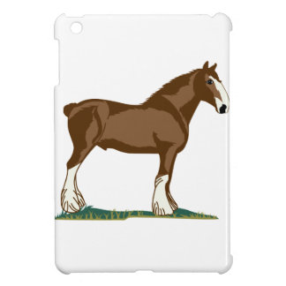 Clydesdale Horse iPad Mini Covers
