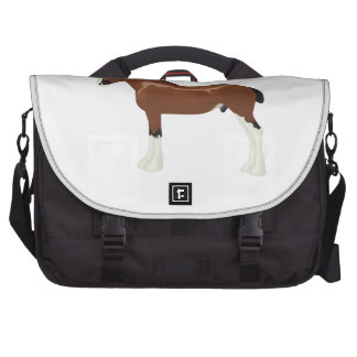 Clydesdale Horse Laptop Computer Bag