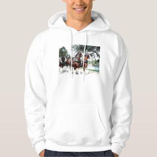 Clydesdale Horses Hoodie