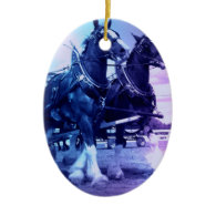 Clydesdale Horses Ornament