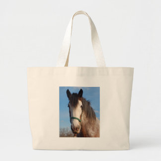 clydesdale mare tote bags