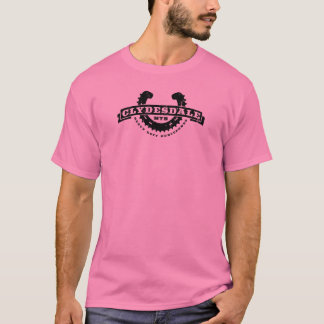 "Clydesdale MTB ""Heavy Duty Horsepower"" tee"