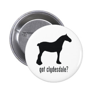 Clydesdale Pin Redondo 5 Cm