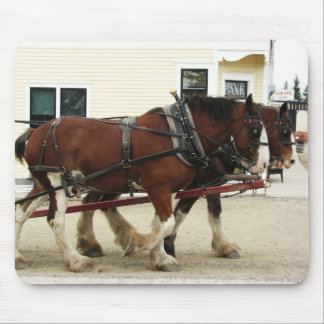 Clydesdale Team Mousepad