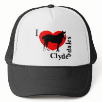 clydesdales1.png trucker hat