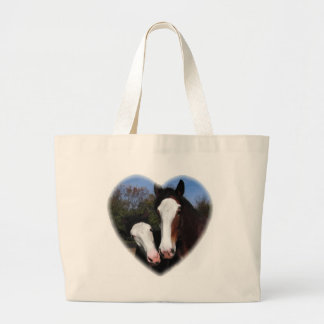 Clydesdales in heart bag