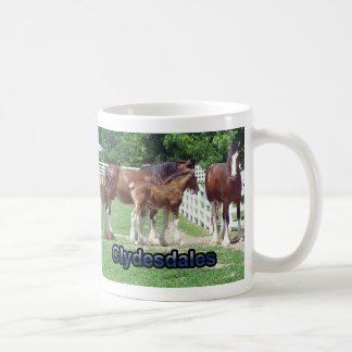 Clydesdales Taza