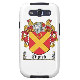 Clynch Family Crest Galaxy SIII Cases