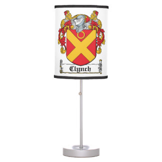 Clynch Family Crest Table Lamps