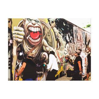 CM11095 - Urban Art - Rolling Stones Canvas Print