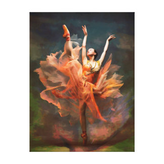 CM11212 - Bailarín de ballet Impresiones En Lona