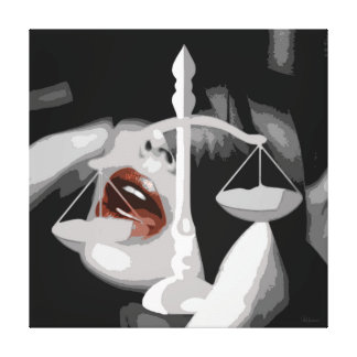 CM6990 - The Justice Canvas Print