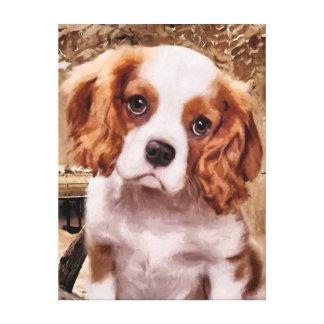 CM8110 - Friendly Dog Canvas Print