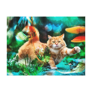 CM8890 - Love to cats Canvas Print