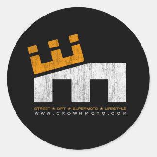 CM Basic 'M' Logo (vintage) Classic Round Sticker