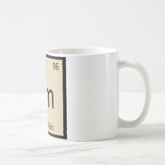 Cm - Chow Mein Chinese Chemistry Periodic Table Coffee Mug