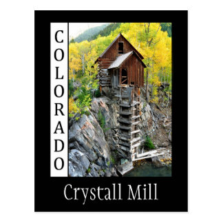 cm, Crystall Mill Postcard