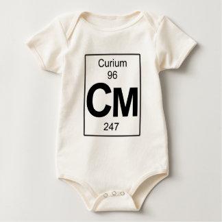 Cm - Curium Baby Bodysuit