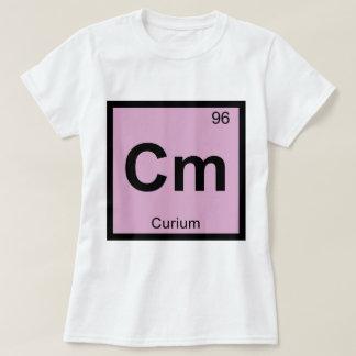 Cm - Curium Chemistry Periodic Table Symbol T-Shirt