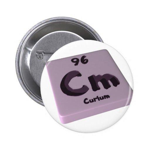 Cm Curium Pins
