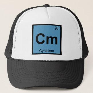 Cm - Cynicism Philosophy Chemistry Symbol Trucker Hat